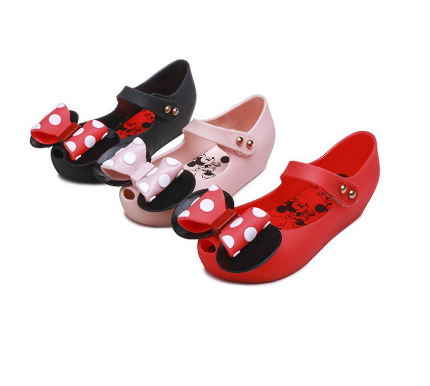 2019 Mickey & Minnie Shoes Kids Girls Sandals Crystal Jelly Shoes Children Cute Baby Girl Sandals 13-18cm2019 Mickey & Minnie Shoes Kids Girls Sandals Crystal Jelly Shoes Children Cute Baby Girl Sandals 13-18cm