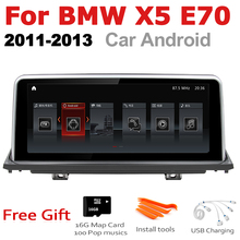 Car Android Radio GPS Multimedia player For BMW X5 E70 2011~2013 CIC stereo HD Screen Navigation Navi Media все цены