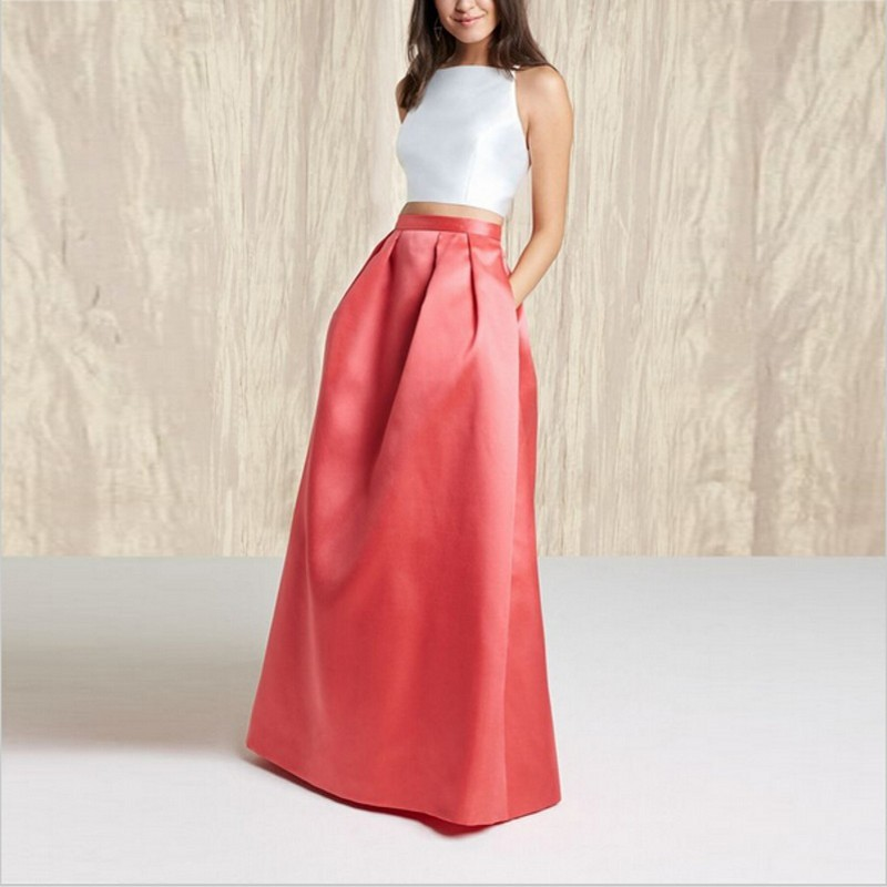 Online Get Cheap Taffeta Skirt with Pockets -Aliexpress.com ...