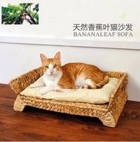 Handmake bananaleaf Board Cat Scratcher bed cat furniture Scratch Pad Cat Kitten Scratch Board Pad Toy For cat
