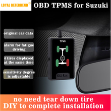 S-cross new S-cross Vitara OBD TPMS tire pressure monitoring system real-time in