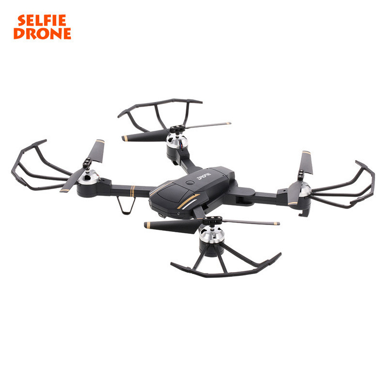GW58 Mini Drone RC Helicopter WIFI FPV With Wide Angle HD Camera High Hold Mode Foldable Arm RC Quadcopter Pocket Drone feichao mini gw58 foldable selfile drone fpv 0 3mp 2 0mp hd camera pocket quadcopter remote and wifi control aircraft drone