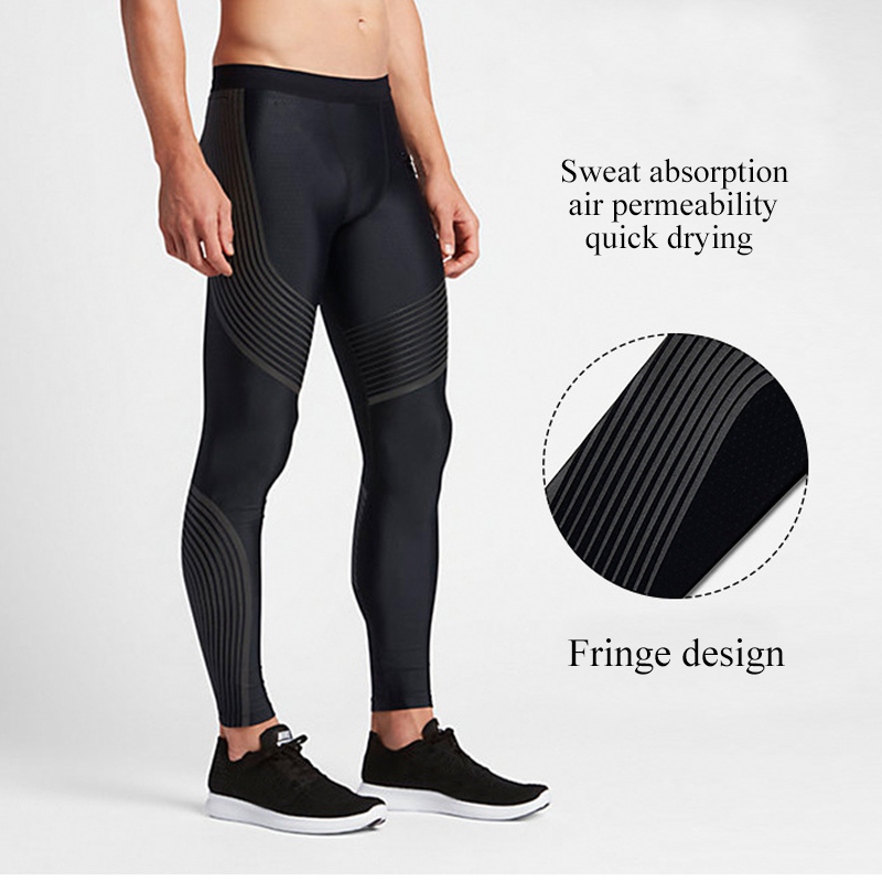 1b5f180c01256 UABRAV Running Tights Men Sports Leggings Sportswear Yoga Trousers Pants  Plus Size Fitness Compression Sexy Gym 2017-in Running Tights from Sports  ...