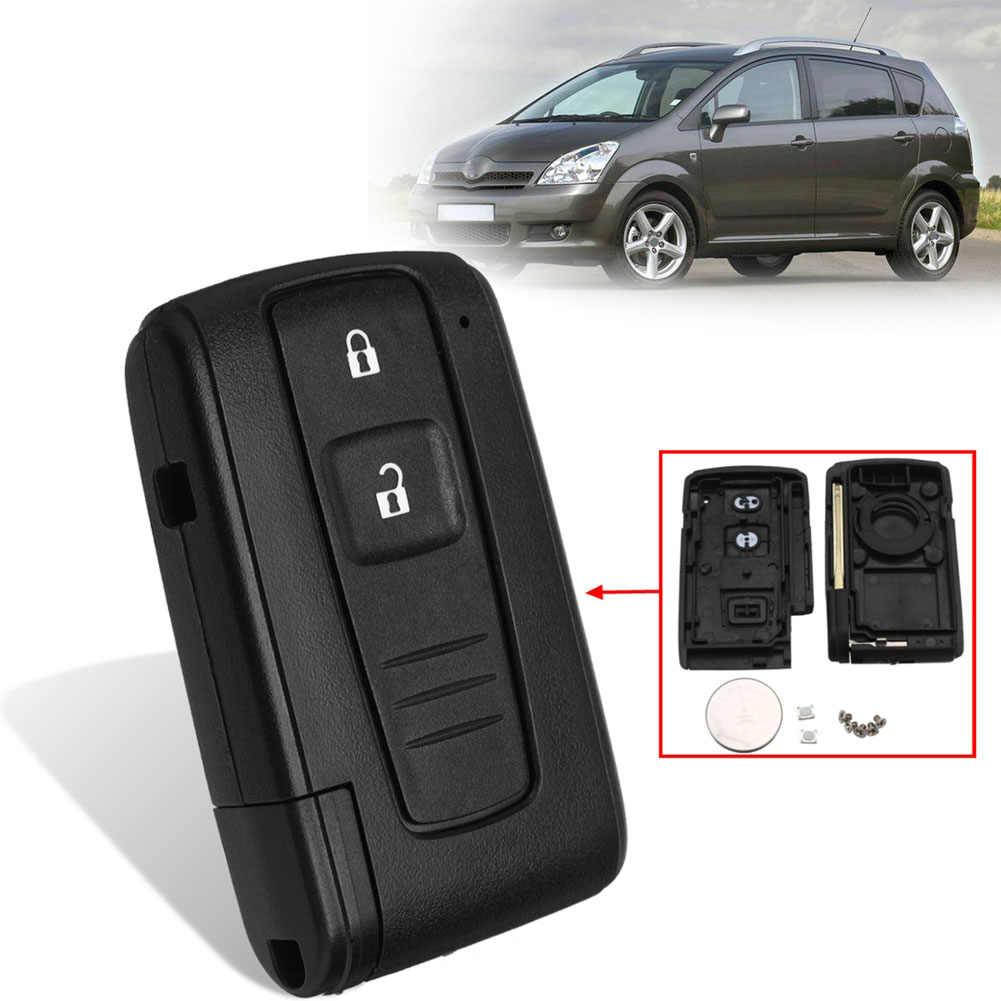 2/Bot/ón remoto caso clave Shell para Toyota Prius Corolla Verso Smart Key Fob