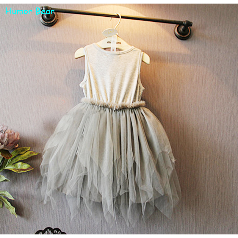 43c7e2d61 Humor Bear Summer Baby Girl Toddler Lace Clothing Dress For Infant ...