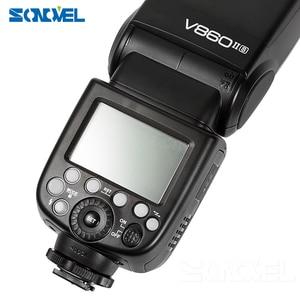 Image 4 - Godox V860II C/N/S/F/O פלאש 2.4G 1/8000 s 2000 mAh Li  על סוללה אלחוטי פלאש אור עבור Sony Canon ניקון אולימפוס Fujifilm
