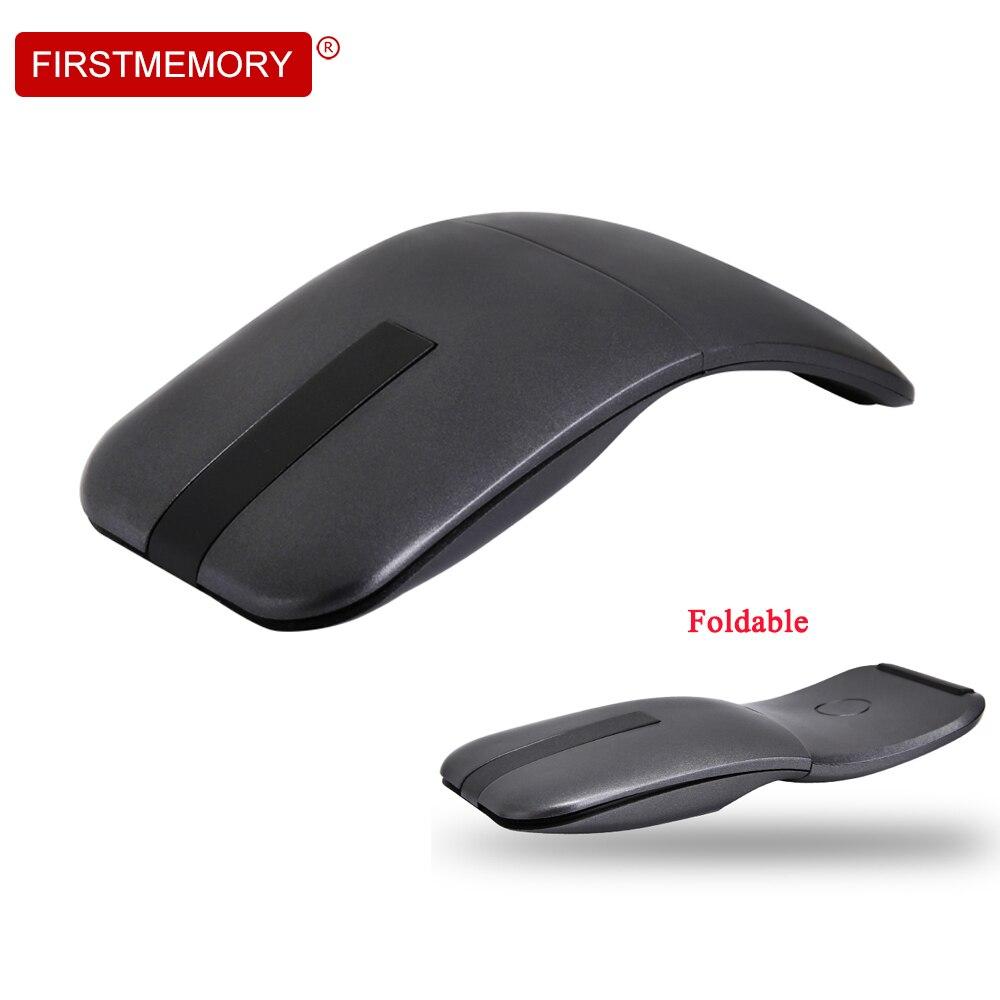 все цены на Wireless Mouse ARC Touch Mice Foldable Ergonomic 1000DPI Folding Optical Ultra-thin Computer Mice For Microsoft Laptop Desktop онлайн