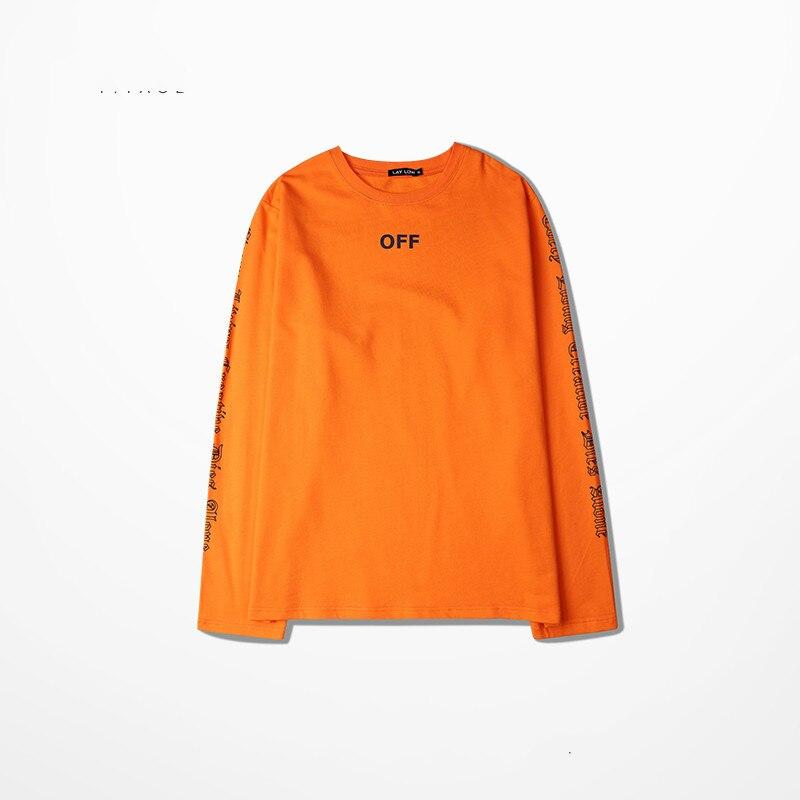 6c9b890565 Vlone Hip Hop Camisetas 16 s Nova Queda Chegada De Rua homens Longo sleeved  Oversized Drop ombro Projeto Quente Tops Tamanho Asiático! em Camisetas de  Dos ...