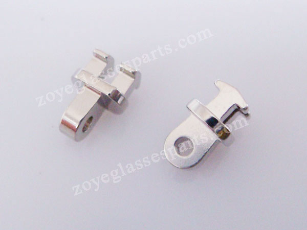 1.65mm teeth single hinge for plastic frame,5mm wide broken front ...