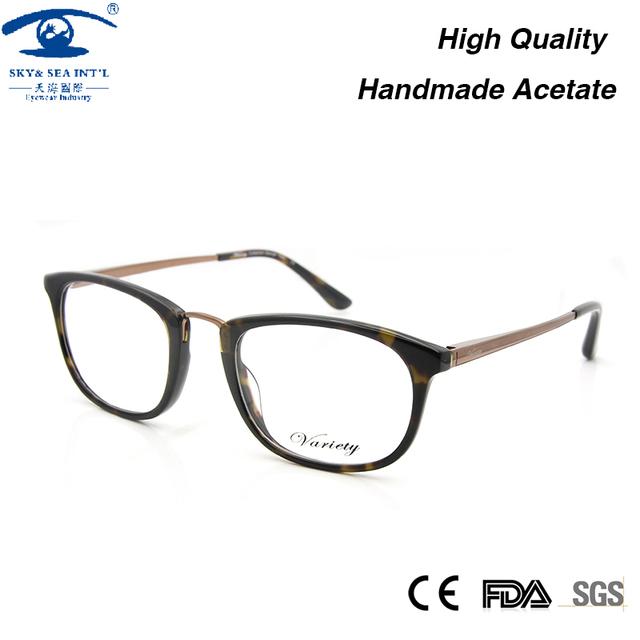 Alta Qualidade Armações de óculos Vintage Mulheres Óculos Quadro Mulher Óculos Decorativas em Óculos de Lente Clara