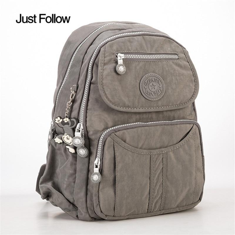 2017 New School Backpack for Teenage Girls Women Nylon Laptop Bagpack Female Mochila Feminine Backpacks