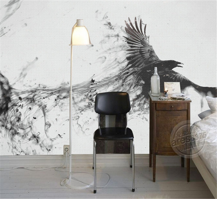 Game of Thrones Photo Wallpaper Custom 3D Large Wall Mural ink art  Wallpaper Room Decor Kid. large wall mural Picture   More Detailed Picture about Game of