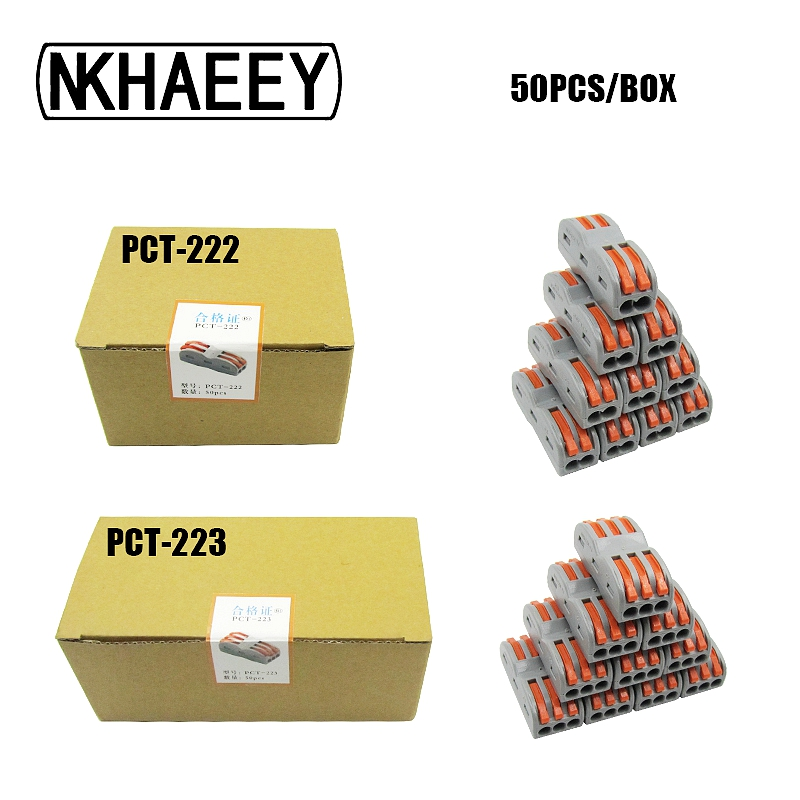 US $15.0 |Free Shipping Wago Type Electrical Wiring Terminals Household on