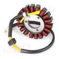 For Suzuki GSXR 600 750 GSXR600 GSXR750 Motorcycle Magneto Motor Coil Engine Stator Charging Generator Assy 2006 2015 K6 K7 K8