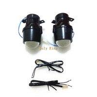 July King Car Bifocal Lens Fog Lamp Assembly Kit Case for Subaru Forester Legacy Impreza Tribeca And Toyota Prius Highlander etc