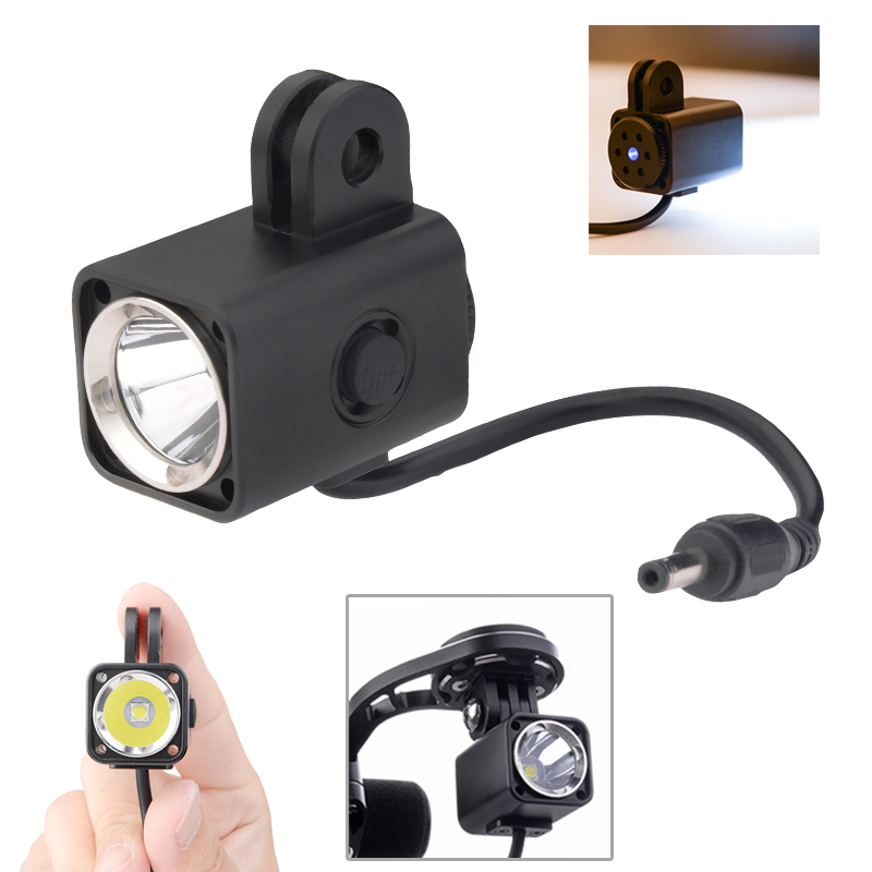 Mini Bike Light XM-L2 Front Bicycle Handlebar Cycling Lamp Bike Light+Battery Pack +Charger+Vehicle Code Extension Rack