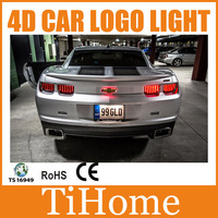 Free Shipping 4D LED Car LOGO Light/Lamp 4D LED car emblem badge light for Chevrolet Camaro