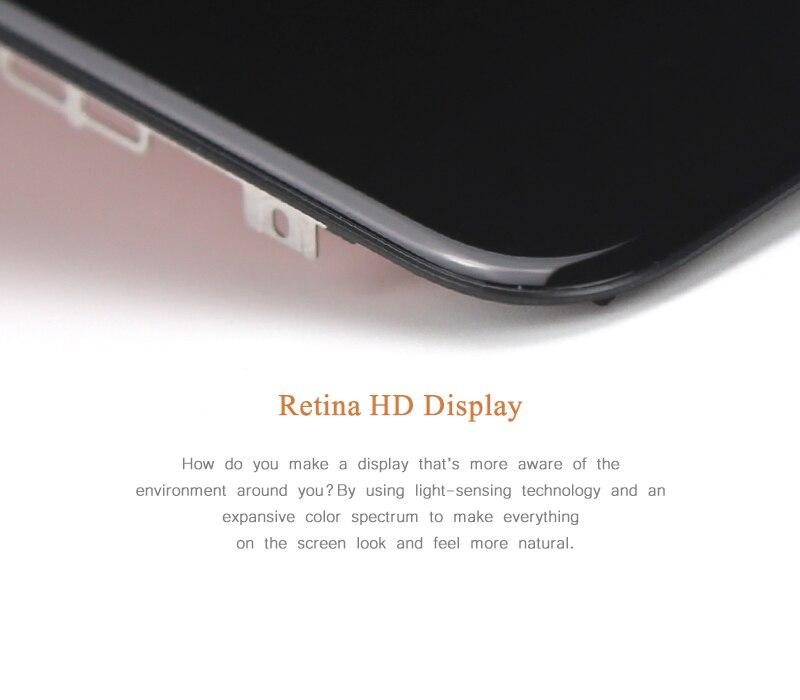 3 pces para iphone 8 plus display 04