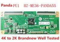 FOR Panda PU1 HZ ME36 PANDA55 4K To 2K Logic Board inch TV Screen LC546PU1L01 Logic Board T Con Board