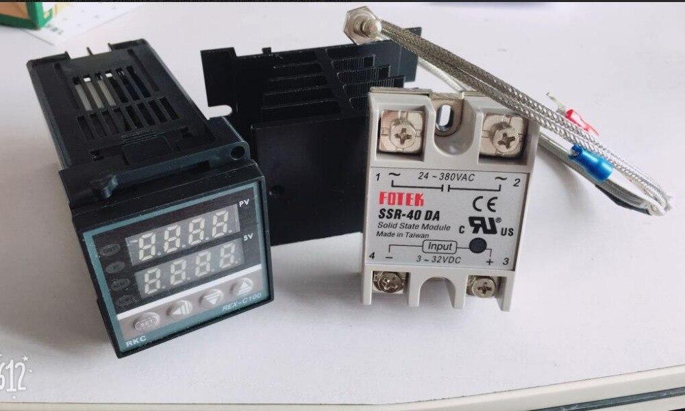 Digital Pid Temperature Controller Thermostat Rex C100fk02