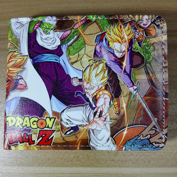 2018 Dragon Ball Z Purse Wallet Credit Oyster License Card Man W221 ...