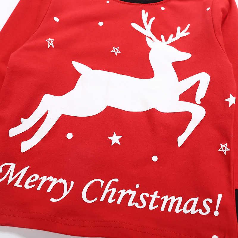 בגדי ילדים קטן ילד בגדי סטים לפעוטות ילדי סתיו סתיו חורף תלבושות החג שמח ילדים חולצה + מכנסיים