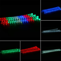 6 Colors 30CM Meteor Shower Rain 8 Tubes Waterproof Bright LED Lights Outdoor Christmas Festival Decoration