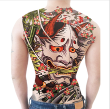 Full back tattoo stickers Ma Wangye ghost god men and women waterproof durable simulation painted