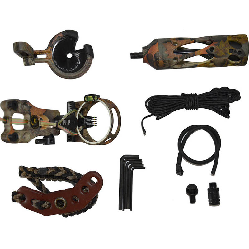 ФОТО Archery TP 2000 Compound Bow Stabilizer Light Sight for Outdoor Hunting Shooting Practice