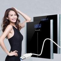 الذكية lcd الموازين المنزلية الطابق آلة الجسم الحمام الرقمية الالكترونية وزنها مقياس ميزان الوزن 30 سنتيمتر * 30 سنتيمتر * 2.5 سنتيمتر