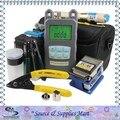 Herramienta de fibra óptica Kit con medidor de potencia óptica y localizador Visual 1 mw y cortador de fibra óptica