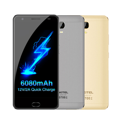 OUKITEL K6000 Plus Cellphone 64GB ROM 4GB RAM 5.5'' Android 7.0 MTK6750T Octa Core 1.5GHz OTG 16.0MP 4G LTE 6080mAh Quick Charge