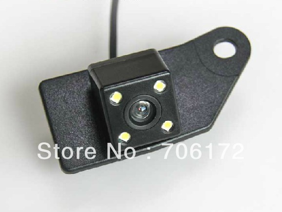 4 LED highest nightvisioin Special Car Rear View Reverse Camera backup car camera for Mitsubishi RVR ASX