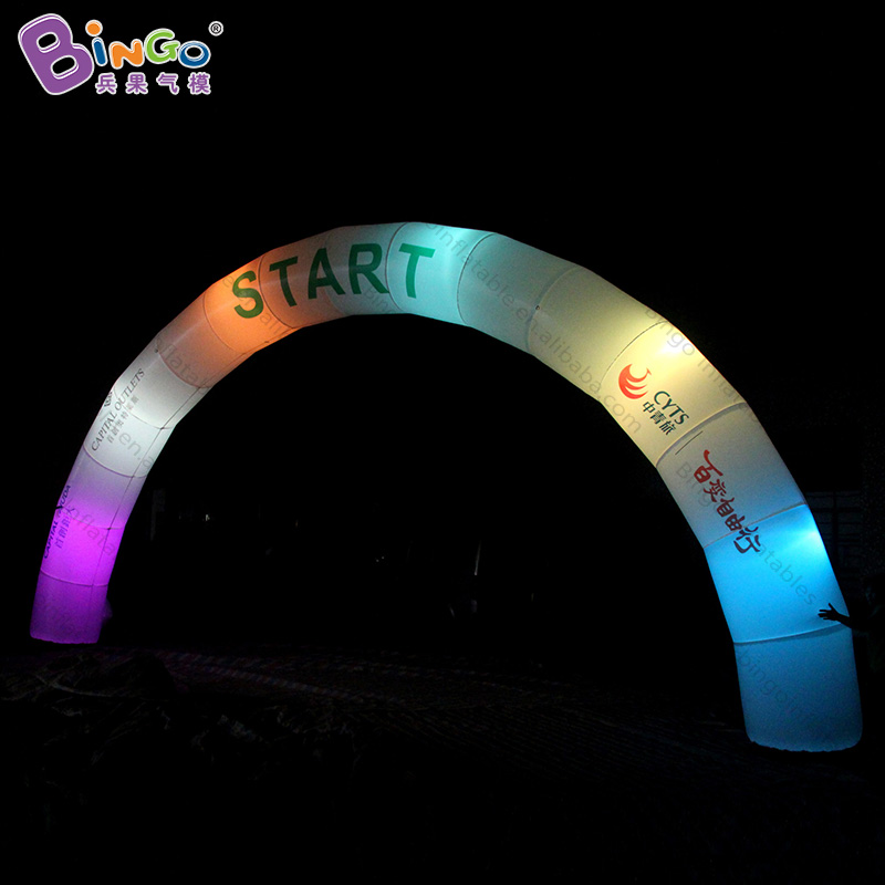 Large outdoor christmas light arch 9 meters width Promotional Lighted Inflatable Arch for saleLarge outdoor christmas light arch 9 meters width Promotional Lighted Inflatable Arch for sale