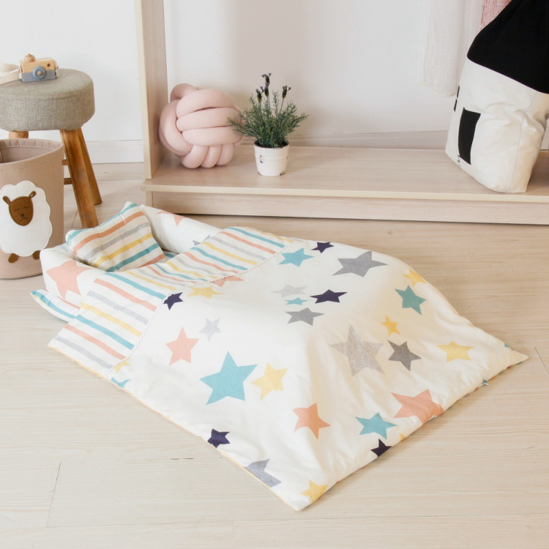 Fashion Baby Bedding Quilt Pillow Mattresses Sheets Bumpers Home Baby Travel Bed Cartoon Blanket Cradle Bed Throw Bed Cover