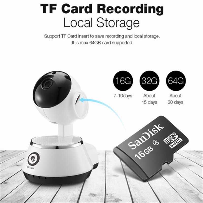 Digoo BB-M1 IP Camera Wireless WiFi USB Baby Monitor Alarm Home Security 720P Audio Netip Protection Motion Detection VS Hiseeu