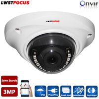 H.264/265 HD 3MP IP Camera Onvif Outdoor Indoor Cctv Breed hoek 2.8mm Lens Optie POE IP Camera 3MP Voor Kantoor, Thuis etc