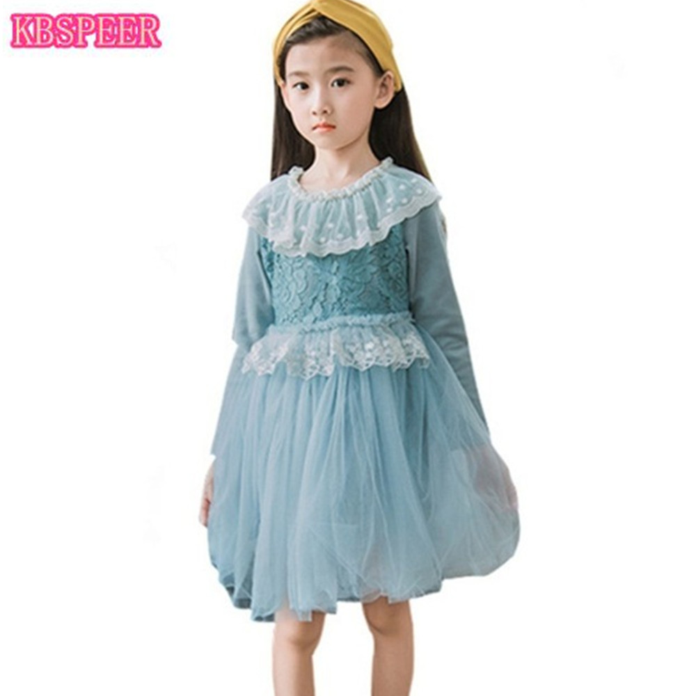 2018 Girl Dress Party Birthday Wedding Princess Toddler Baby Girl ...