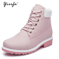 Single Boots Female Winter Cashwork Boots Flat Head Bulk Shoes Women Casual Martin Boots Women Short