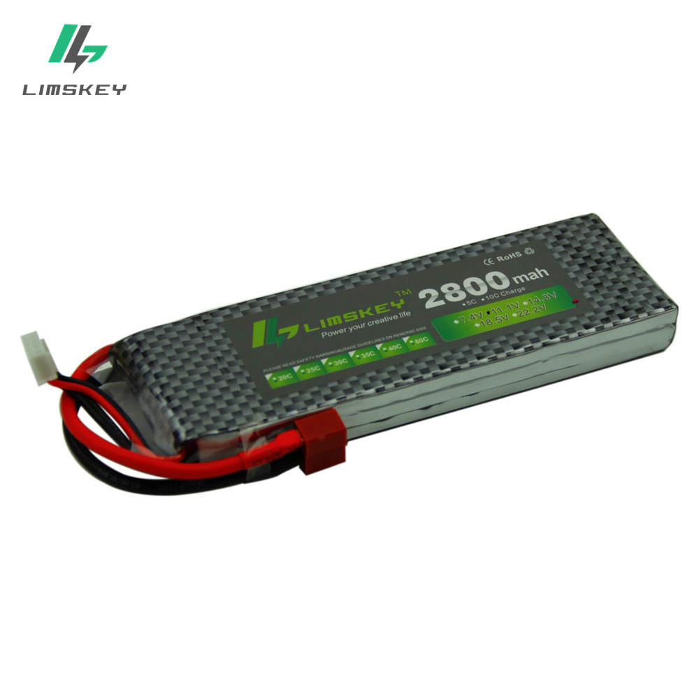 цена на Limskey Power 3S 11.1v 2800MAH 35C Lipo Battery For remote control aircraft T XT60 11.1v 2800 MAH 30c toy Batteries 3s Lipo