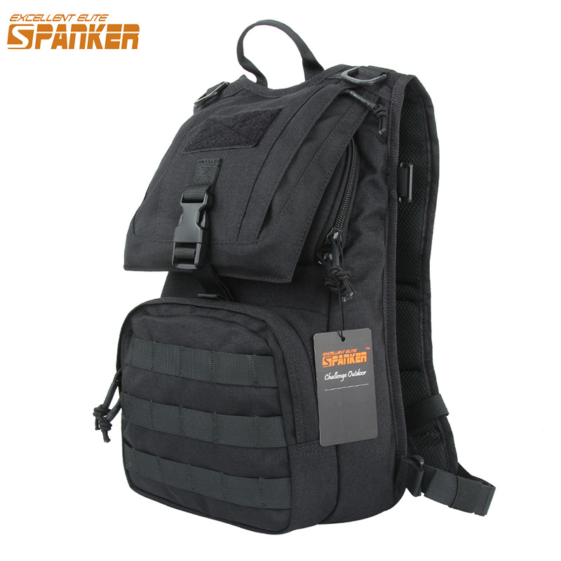 EXCELLENT ELITE SPANKER Tactical Backpack Hunting Water Bag Accessories Waterproof Travel Bags Molle Camping Backpack