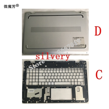 New Laptop Bottom Cover For HP for ENVY 15-AS Bottom Case D shell 857800-001 6070B1018001 /Palmrest COVER C shell 857799-001