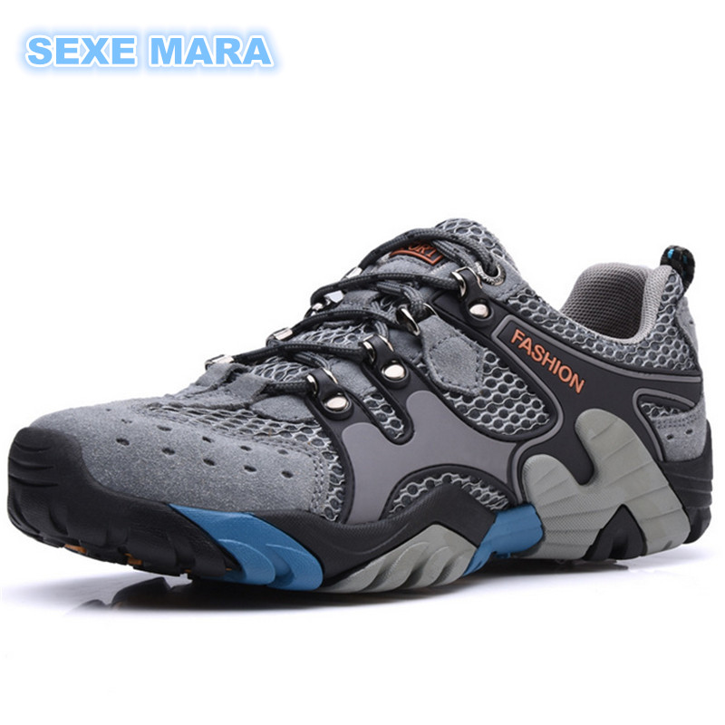 2017 Size 35-46 Outdoor Breathable Sports Shoes Sneakers Men and Women Running shoes for men non-slip Off-road Jogging Walking  trainers men 2017 brand sneakers breathable running shoes outdoor blade sole sports shoes high quality non slip sneakers