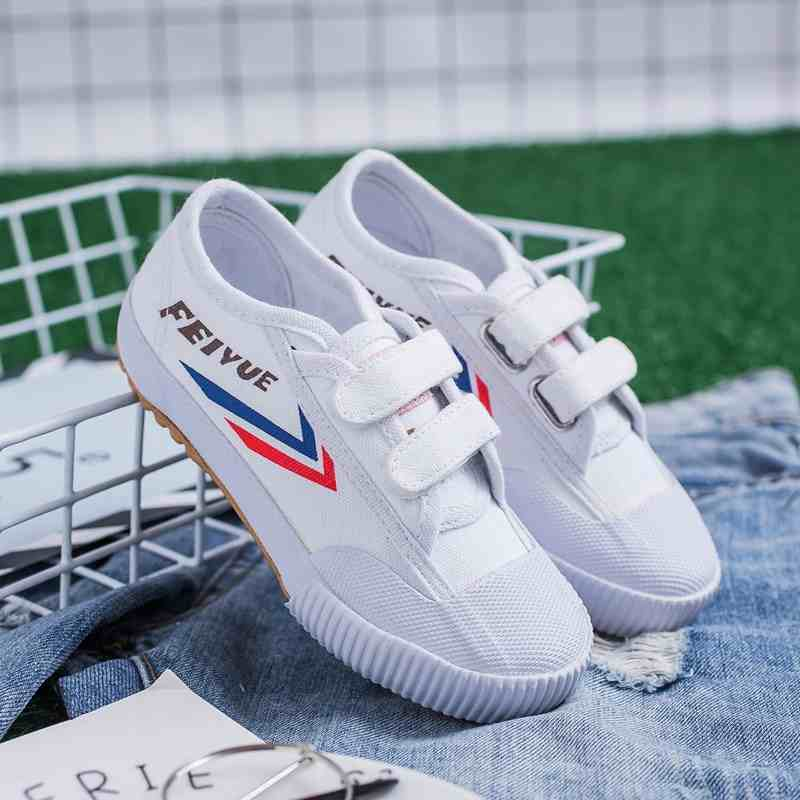 Footwear Feiyue-Shoes Karate Sports Training-Sneakers Martial-Arts Children White Tai-Chi