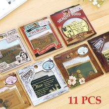 wholesale 11pcs pack retro European style Gift seal flake sticker pack hot selling decoration packing stickers