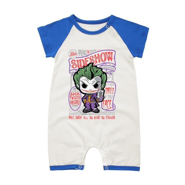 Brand Baby Girl Boy Clothing Set Joker Cartoon Newborn Baby Costume Summer Style Infant Rompers Short  sc 1 st  AliExpress.com & Brand Baby Girl Boy Clothing Set Joker Cartoon Newborn Baby Costume ...