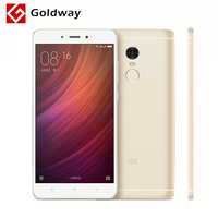 Original Xiaomi Redmi Note 4 3GB RAM 64GB ROM Mobile Phone MTK Helio X20 Deca Core 5.5