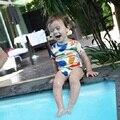 Bobo Choses Cuerpo Matisse/sandía Mameluco Del Bebé Niños Niñas Impreso Triángulo Del Mameluco Del Verano de Manga Corta de Una sola Pieza Del Mono