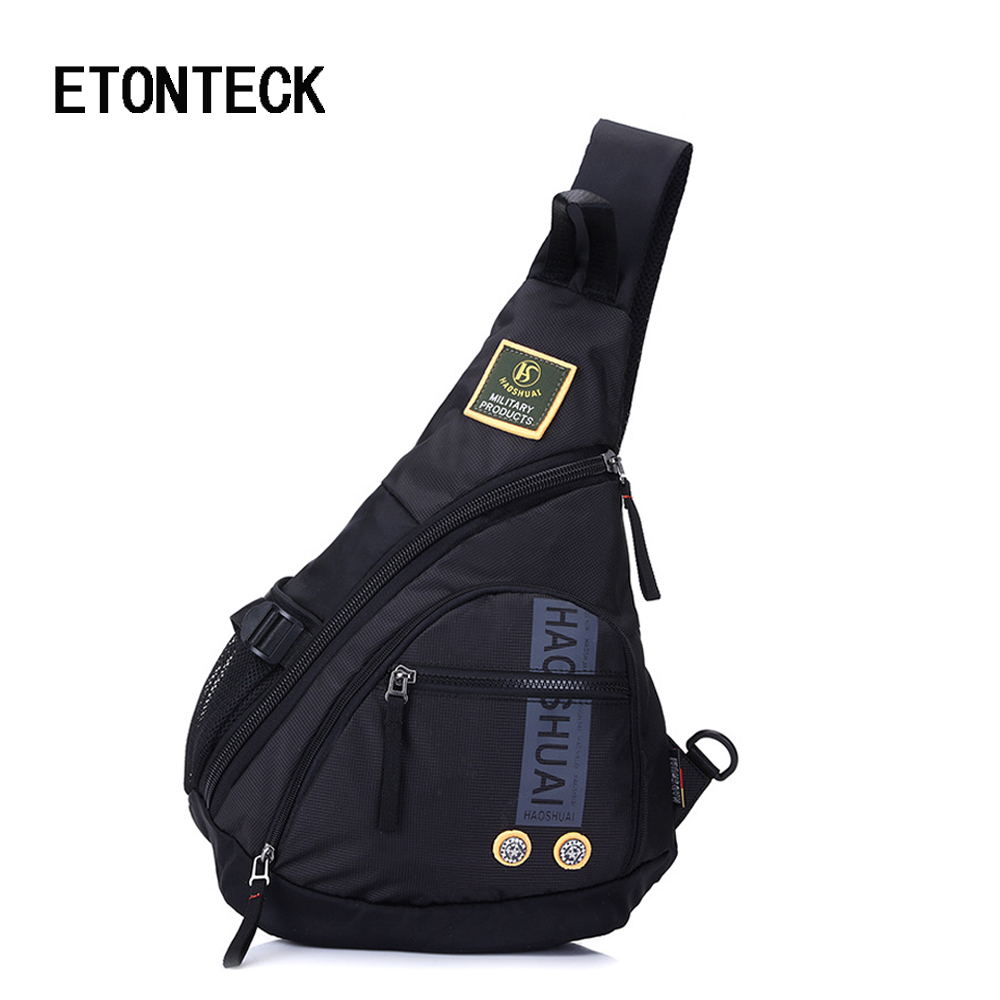 2018 Waterproof Oxford Men Single Shoulder Messenger Chest Bag Large Travel Military Cross body Bags Sling Rucksack Back Pack new 2018 men nylon travel military cross body messenger shoulder back pack sling chest airborne molle pack