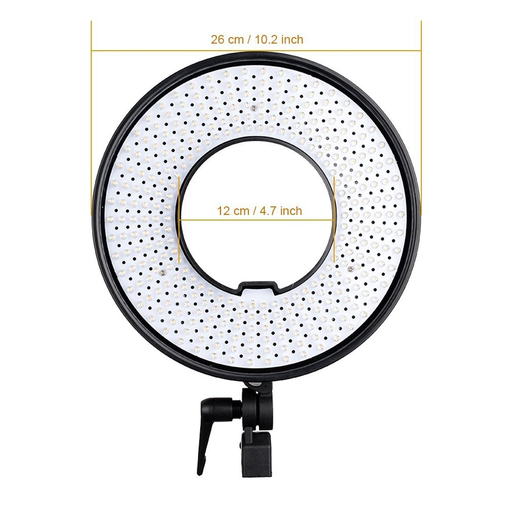 FalconEyes DVR-300 Dual Color 300 LED Ring Light 3